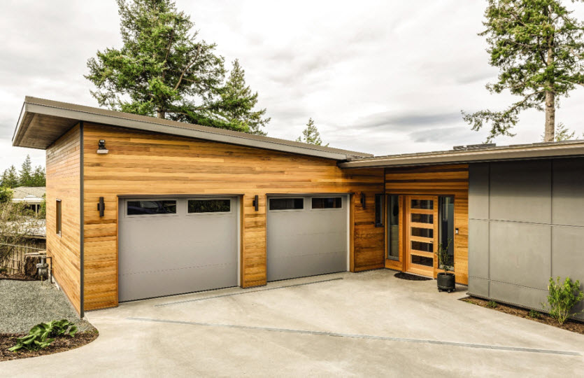 overhead-door-edmonton-flush-garage-doors-gray2